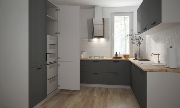 k chenschrank unterschrank 60cm k che schubladen farbe w hlbar q d3e 60 ebay. Black Bedroom Furniture Sets. Home Design Ideas