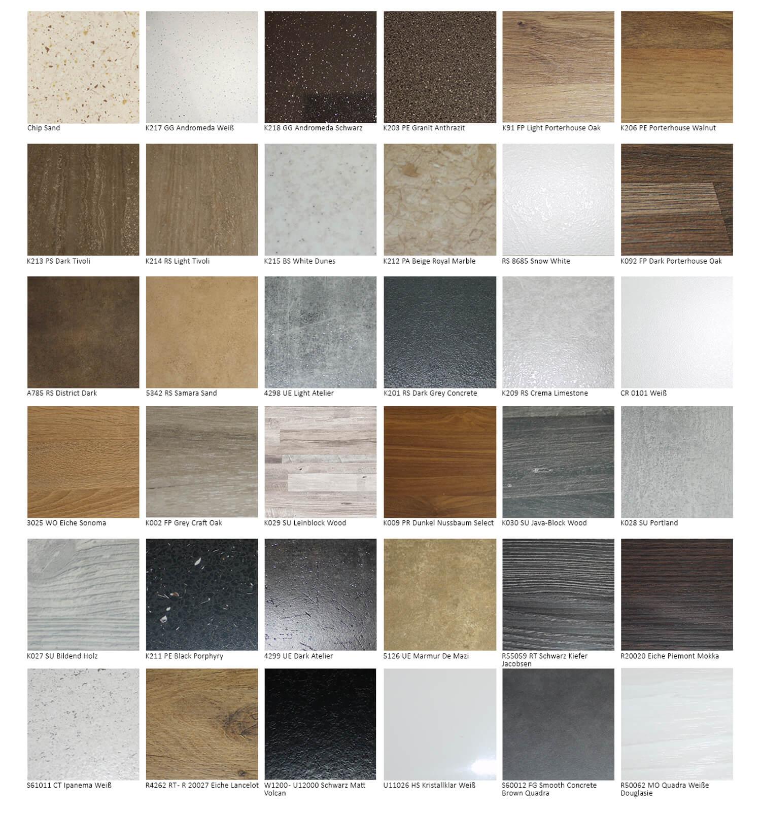 Details zu Eck Arbeitsplatte Holz Eckschränke Küchenzeilen Farbe / Stärke  wählbar 161439