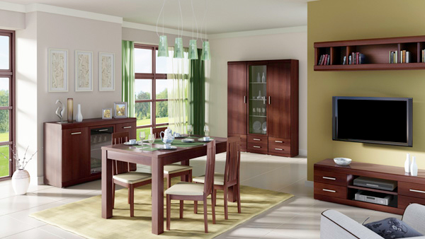 Kleiderschrank Schlafzimmerschrank 2 Turig Nussbaum Imperial 80 Cm