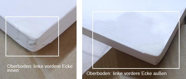 sideboard anrichte kommode 132cm wei wei hochglanz 626196 14179 ebay. Black Bedroom Furniture Sets. Home Design Ideas