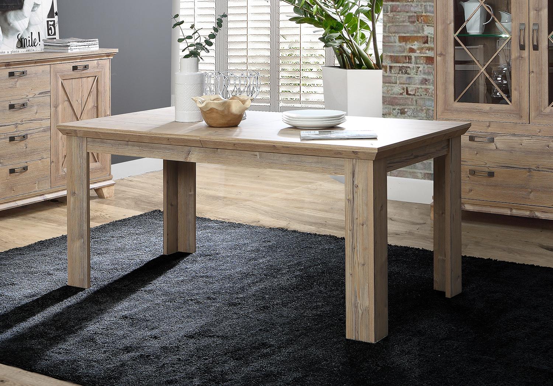Esstisch Kuchentisch Holztisch Landhaus 160 206x90cm Bramberg Fichte 66151150 Ebay