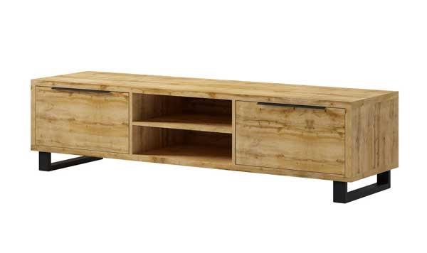 lowboard tv board wohnzimmer fernsehtisch 180cm klappt ren wotan eiche 23609 ebay. Black Bedroom Furniture Sets. Home Design Ideas