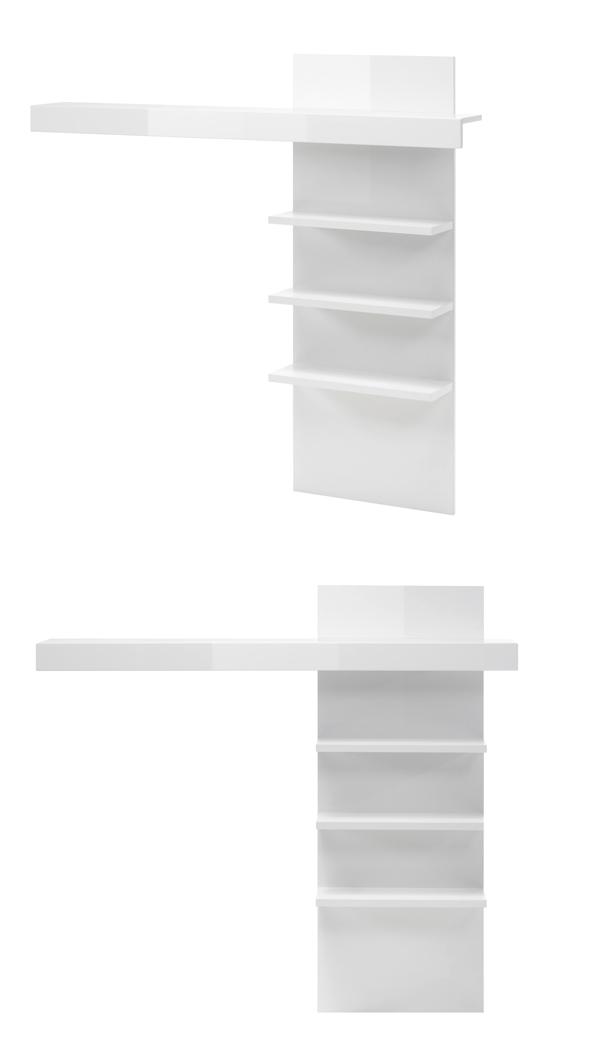 Weiß Hochglanz 66440353 Kindermöbel Wohnen Wandregal