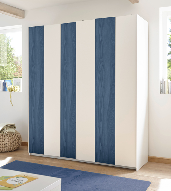 schwebet renschrank kleiderschrank schrank 179cm wei. Black Bedroom Furniture Sets. Home Design Ideas