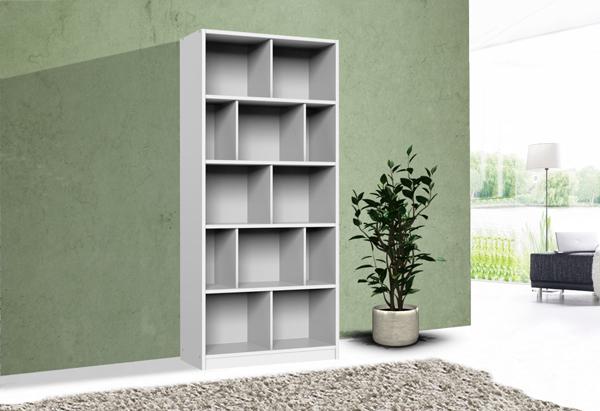 wimex standregal b cherregal regal aufbewahrung 90cm joker wei 287757 13841 ebay. Black Bedroom Furniture Sets. Home Design Ideas
