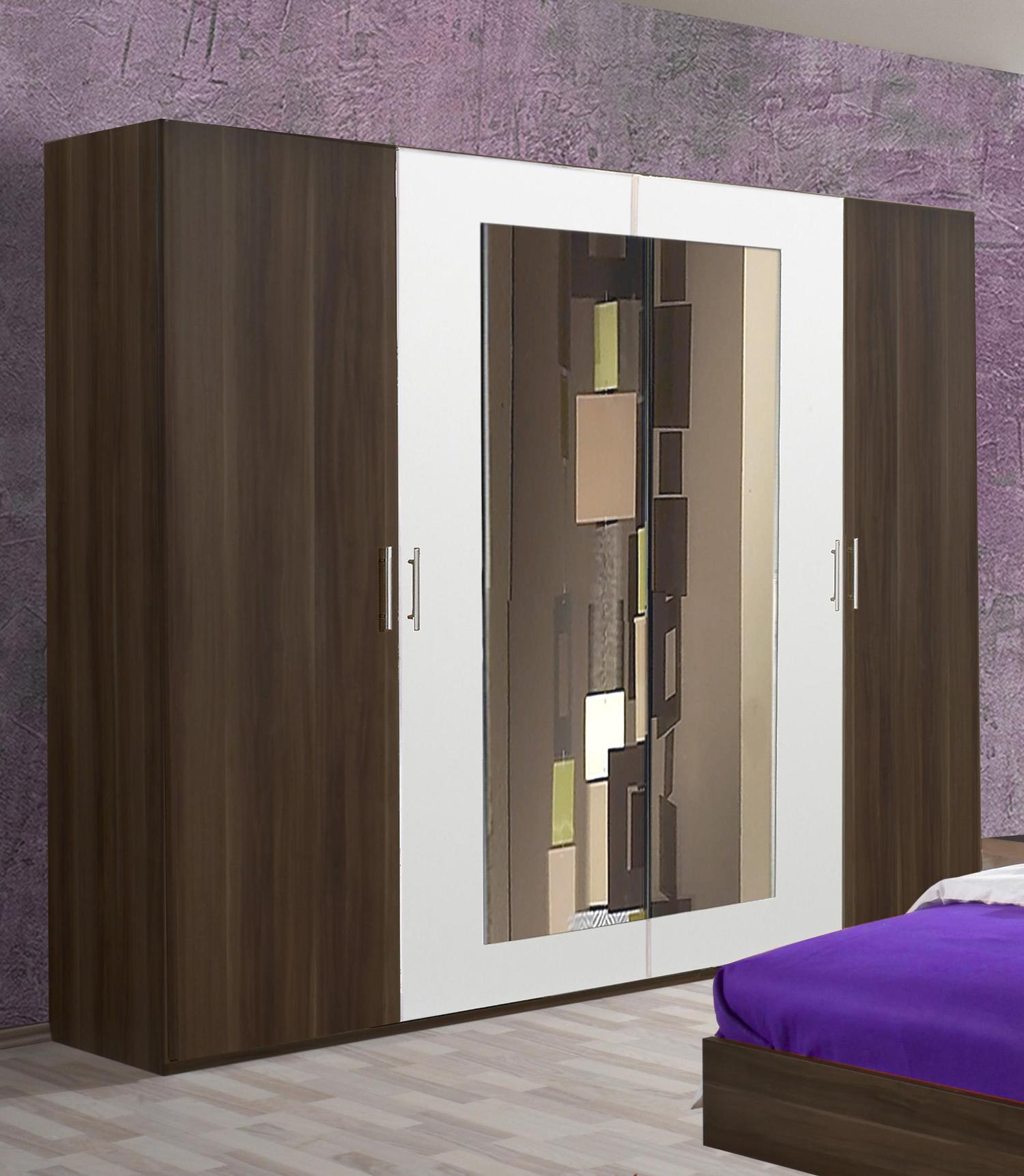 wimex kleiderschrank schlafzimmerschrank columbia nussbaum. Black Bedroom Furniture Sets. Home Design Ideas