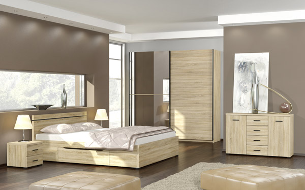 Schlafzimmer Komplett Angebote: Schlafzimmer Komplett Eckschrank ... Schlafzimmer Eiche