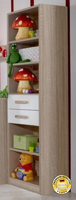 regal standregal kinderzimmer eiche s gerau alpinwei neu regale staurauml sungen kinder. Black Bedroom Furniture Sets. Home Design Ideas