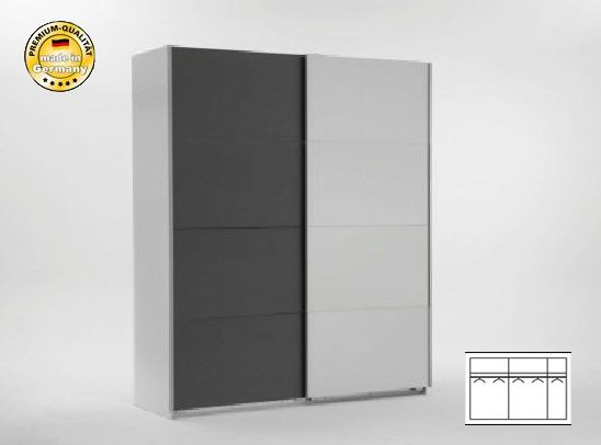 schwebet renschrank schlafzimmerschrank 313cm alpinwei. Black Bedroom Furniture Sets. Home Design Ideas