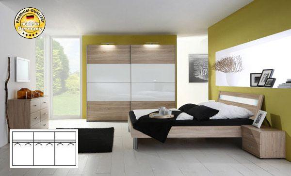 Schlafzimmer : Schlafzimmer Weiß Eiche Schlafzimmer Weiß ... Schlafzimmer Eiche