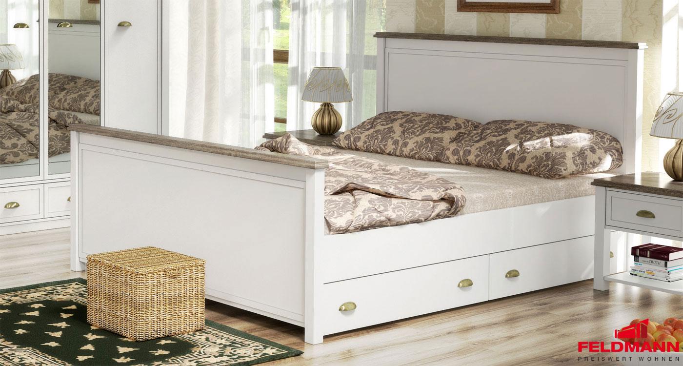 Schlafzimmer bett mit bettkasten – midir