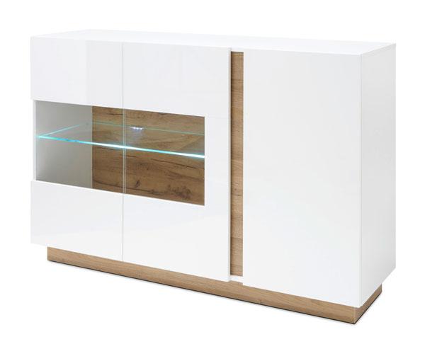 Sideboard CLAIR weiß / weiß - grandson oak 51473519 #I