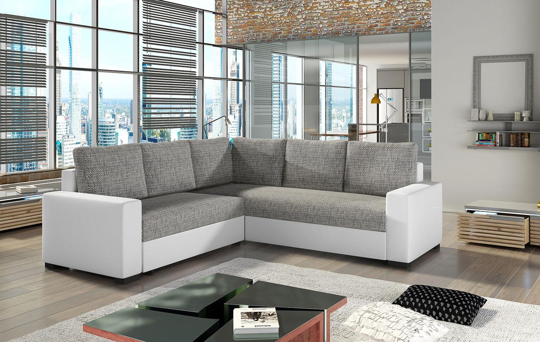 Ecksofa Eckcouch Couch Sofa CANIS Bettkasten Schlaffunktion Farbe wählbar