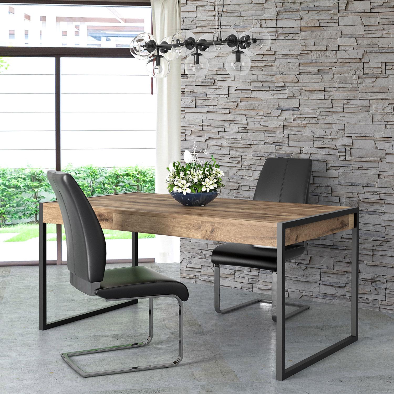 Esstisch Kuchentisch Holztisch 166x90cm Stabeiche Modern Neu Tische Und Stuhle Esszimmer Feldmann Wohnen Gmbh Online Shop