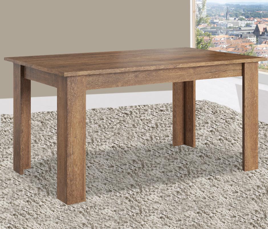 Esstisch Küchentisch Holztisch 152-192x90cm eiche lefkas ...