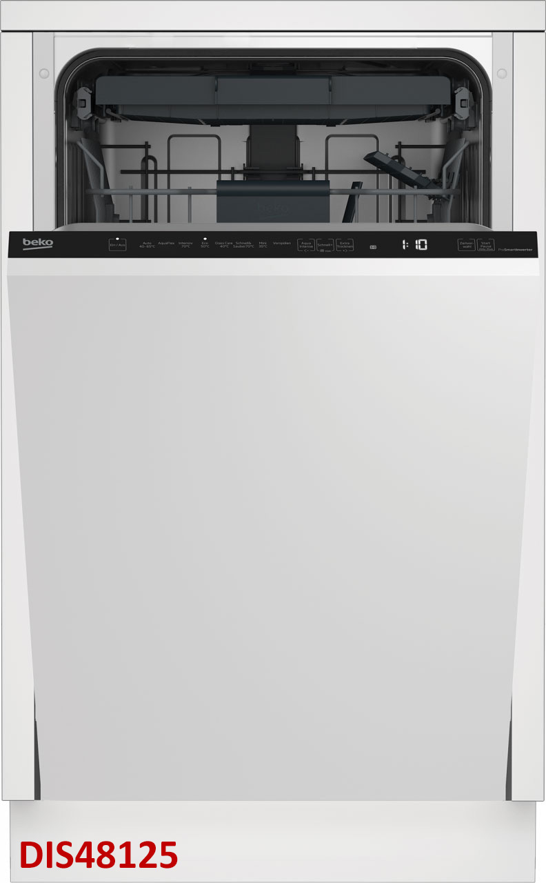 Beko Einbau-Geschirrspüler vollintegriert 45 cm - Ausführung wählbar