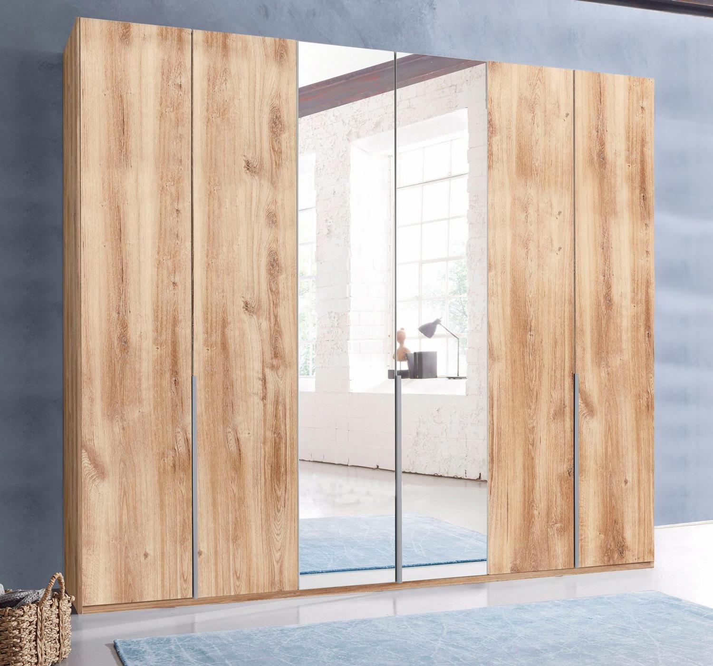 Kleiderschrank Schlafzimmerschrank New York plankeneiche 270cm 6