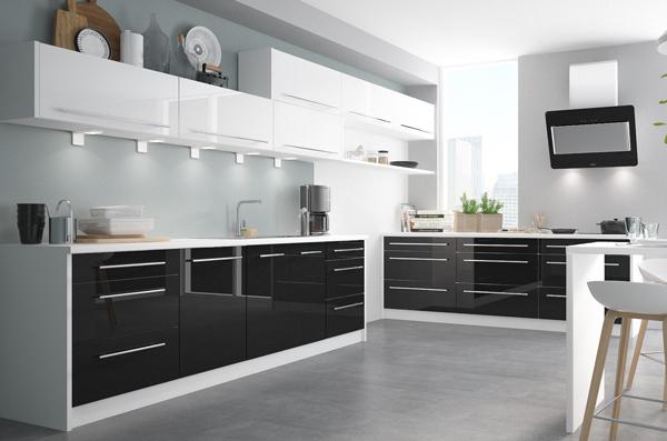 Küchenrahmen Platten Abschluss Double System - Farbe & Größe wählbar ...