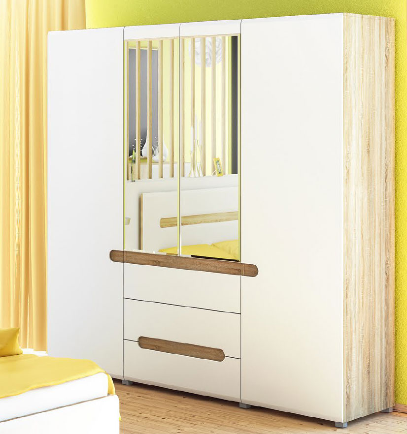 awesome great awesome schrank sonoma eiche wei hochglanz trig cm neu with schrank sonoma eiche with poco bcherregal with poco tv schrank