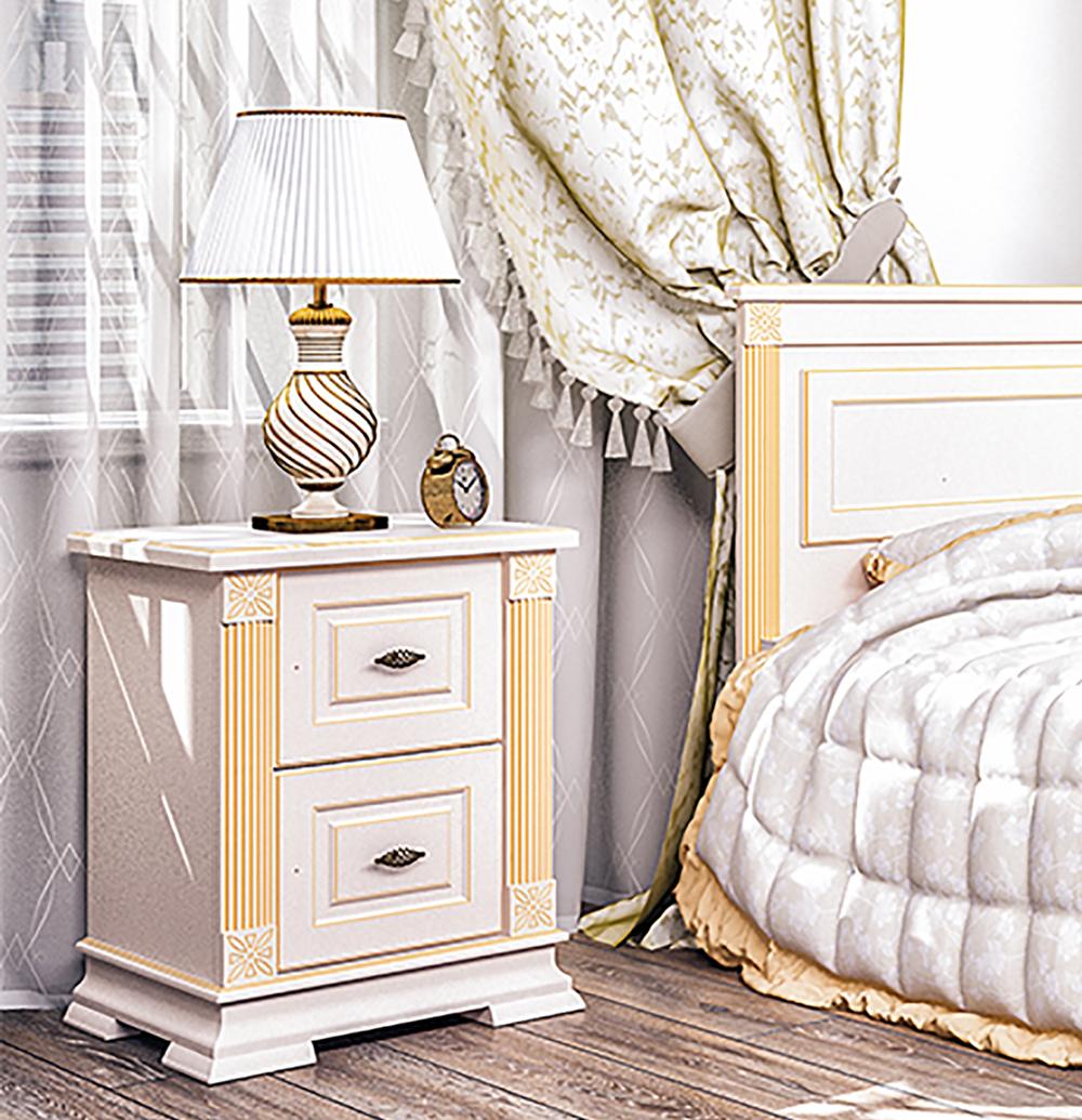 ... Nachttisch Schlafzimmer Nachtschrank 57cm Creme / Patina Creme ...