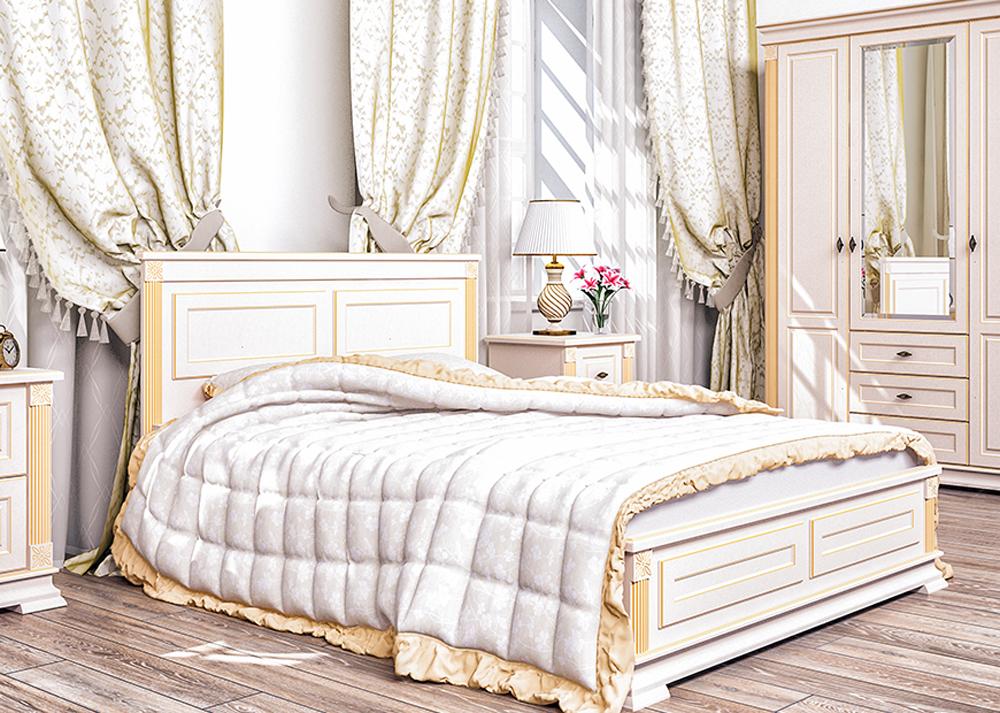 doppelbett bett lattenrahmen bettgestell bettkasten 160x200cm creme patina creme holzbetten. Black Bedroom Furniture Sets. Home Design Ideas