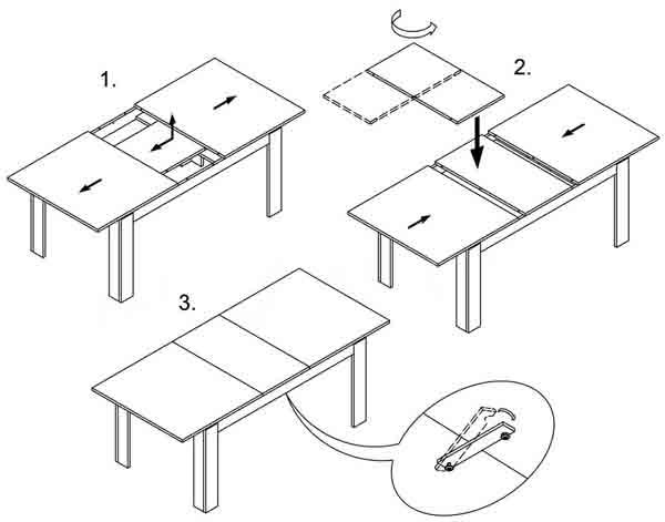 Esstisch Küchentisch Tisch Esszimmer Ausziehbar 160