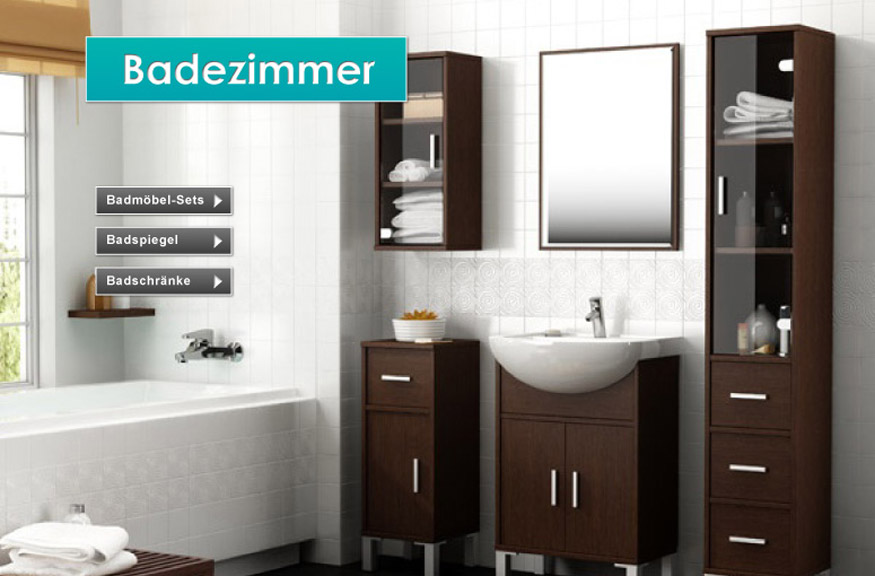 badezimmer attraktiv gestalten preisg nstig bei feldmann online. Black Bedroom Furniture Sets. Home Design Ideas