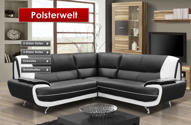 polsterm bel f r das wohnzimmer preisg nstig bei feldmann online. Black Bedroom Furniture Sets. Home Design Ideas