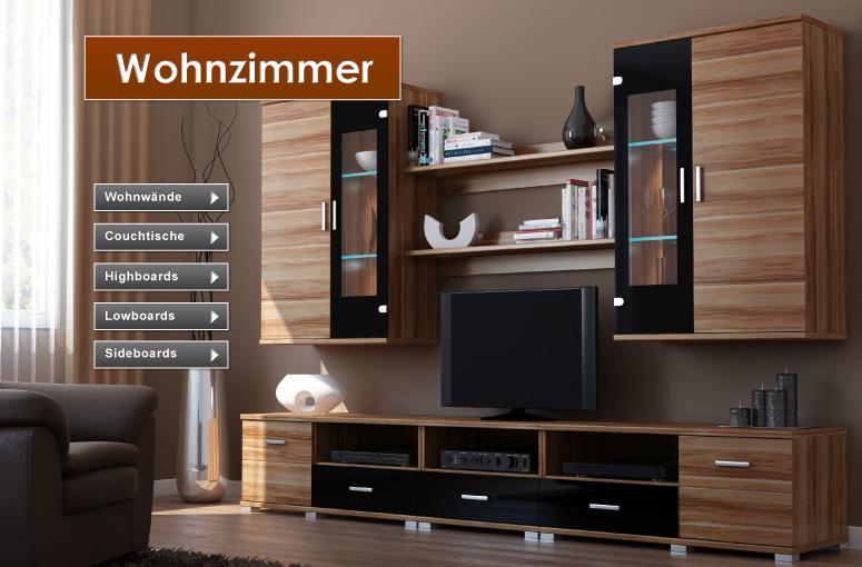 Beautiful Wohnzimmer Nussbaum Schwarz Gallery - House Design Ideas ... Wohnzimmer Nussbaum Schwarz
