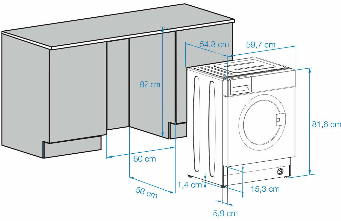 Beko Waschvollautomat WMI71433PTE #dv78