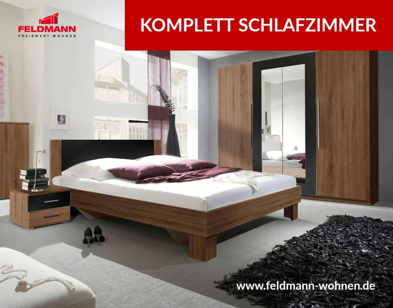 Komplett Schlafzimmer │günstig bei Feldmann online kaufen