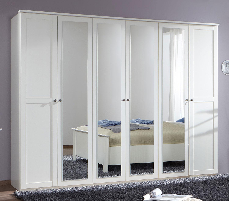 Wimex Kleiderschrank Schlafzimmer Schrank Chalet Spiegel 6 Turig
