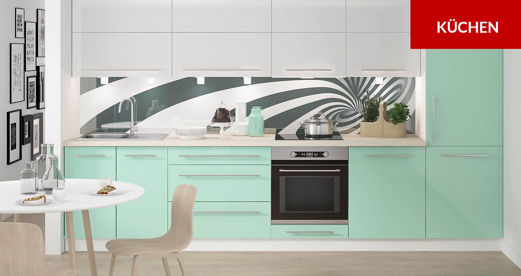 k che attraktiv gestalten preiswert bei feldmann online. Black Bedroom Furniture Sets. Home Design Ideas