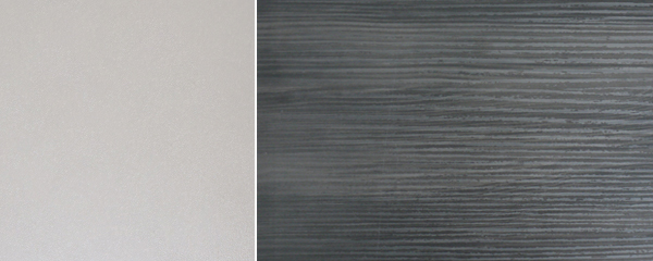 Küchenblock Küchenzeile Komplett Küche L-Form 13-tlg. grau / black pine Neu