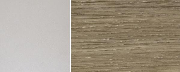 Küchenblock Küchenzeile Komplett Küche U-Form 9-tlg. grau / latte Neu