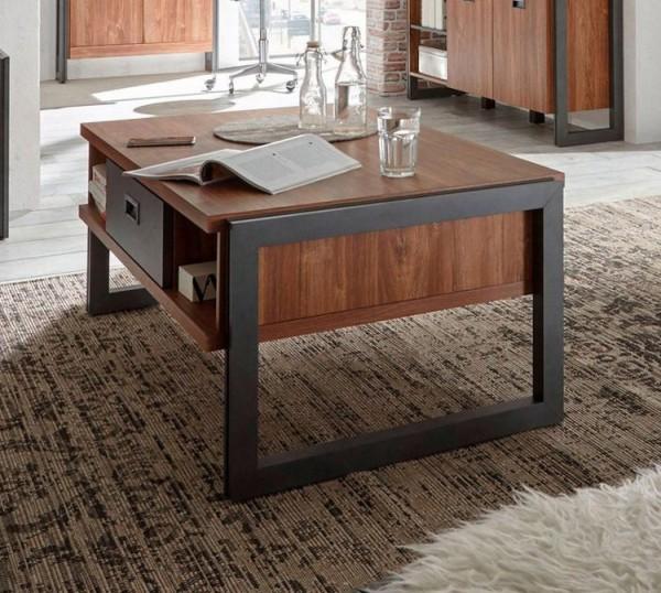 Couchtisch Detroit Wohnzimmertisch 113x68cm Stirling Oak schiefer Industrial-Design