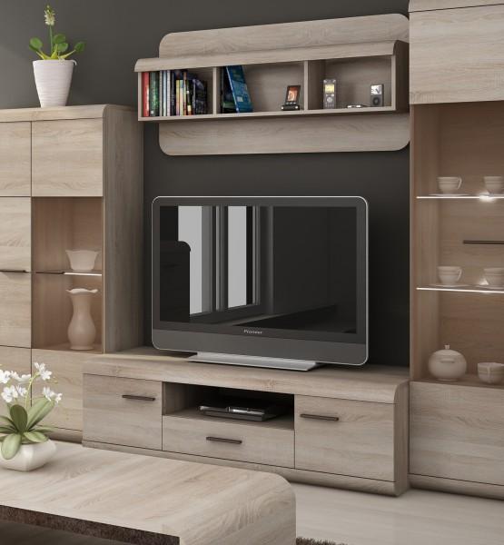 """Lowboard """"Link"""" TV-Unterschrank 140cm eiche sonoma MDF"""
