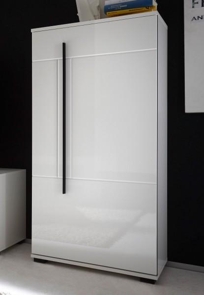 Stauraumschrank Cantara Highboard 60cm 1-türig weiß