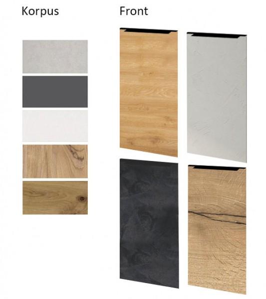 Holzmuster Serie Malmo für Küchenfronten-& Korpusse Farbe wählbar (ML-Muster)