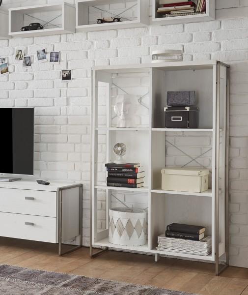 Regal Frame Bücherregal 87cm pinie weiß