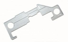 Schablone für Airtic® System Schubladendämpfer Soft-Close Neu